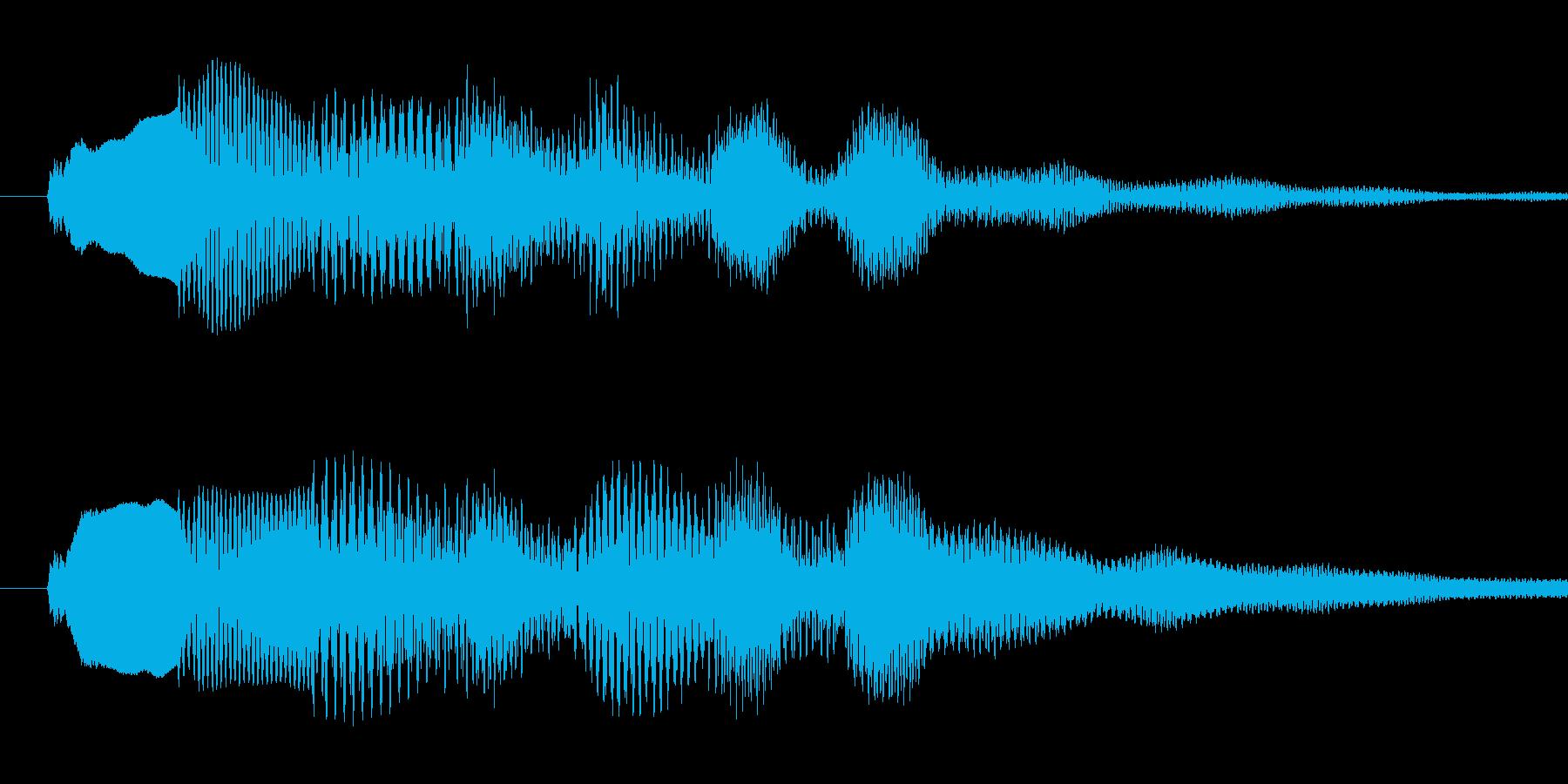 Musicboxによる着信音です。の再生済みの波形