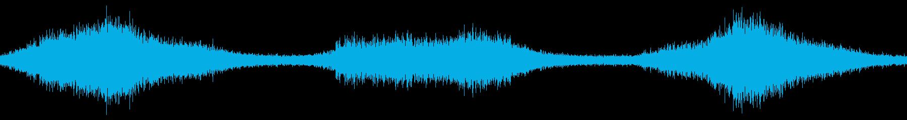 波、中、ビーチループの再生済みの波形
