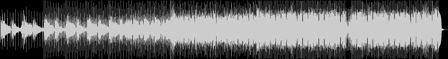 透明感あるピアノメインのEDMの未再生の波形