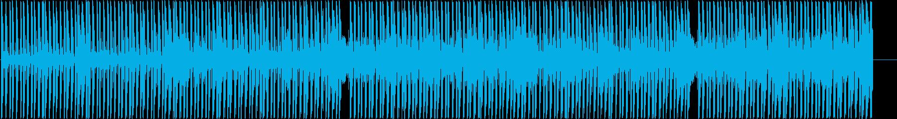 明るいダンスホールレゲエ アフロビートの再生済みの波形