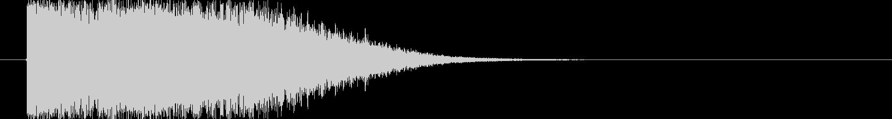 エネルギー放射(m0262)の未再生の波形