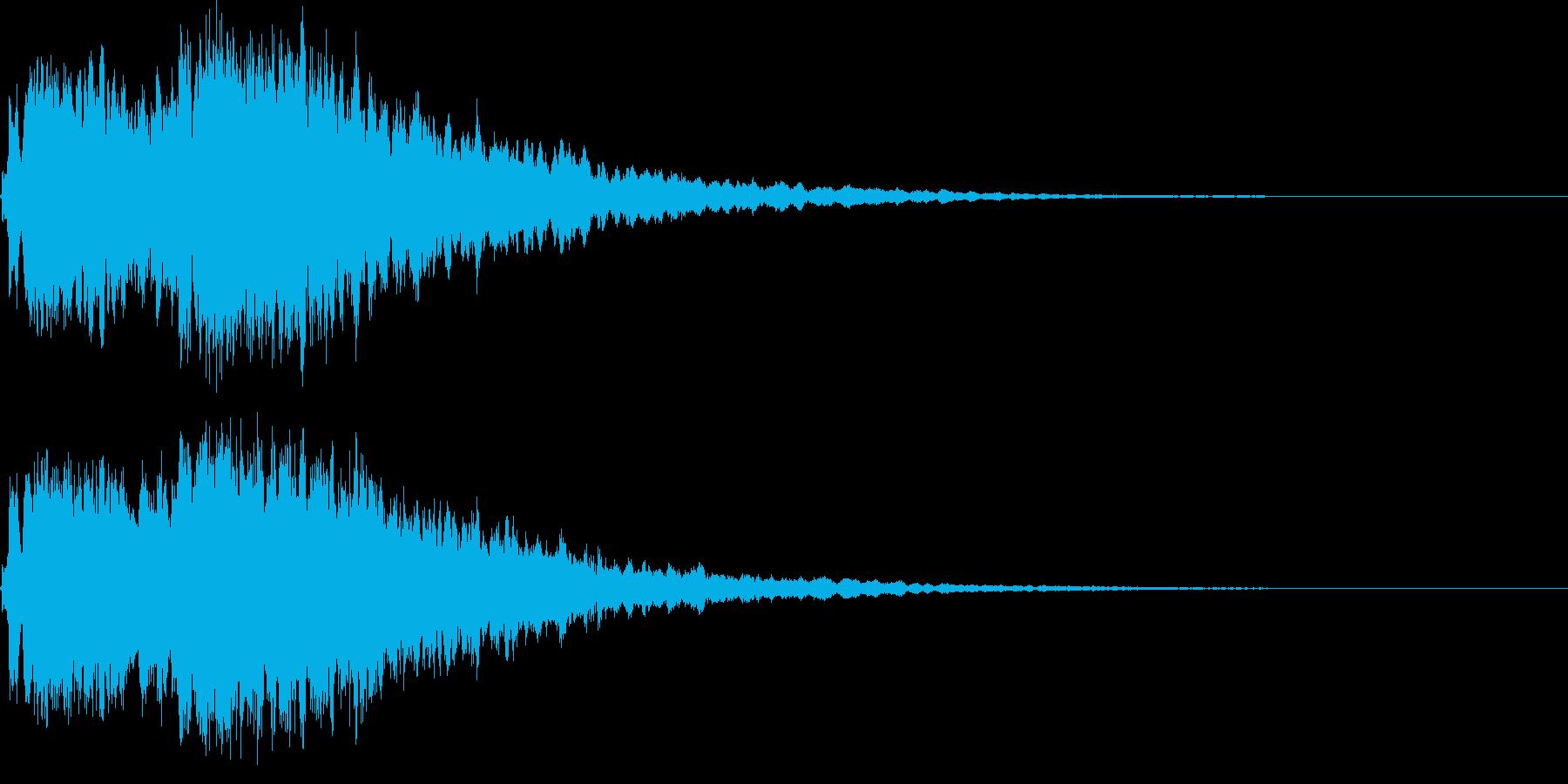 魔法29(回復・光・防御・補助系)の再生済みの波形