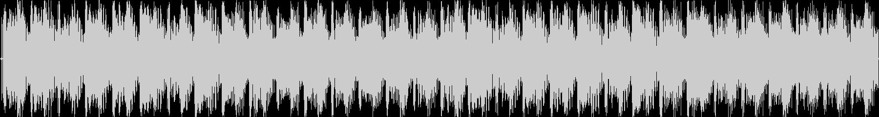 爽やかな4打ちジングル/ループokの未再生の波形