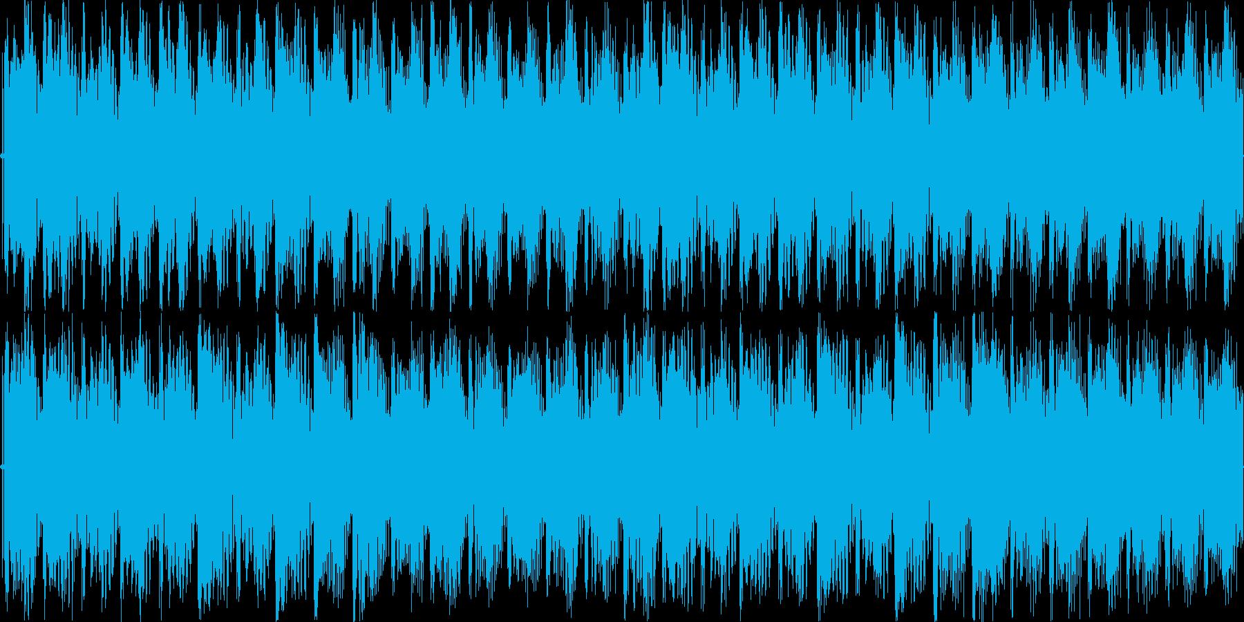 爽やかな4打ちジングル/ループokの再生済みの波形