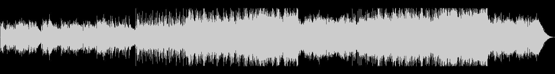 悲しみのピアノ・エレクトロの未再生の波形