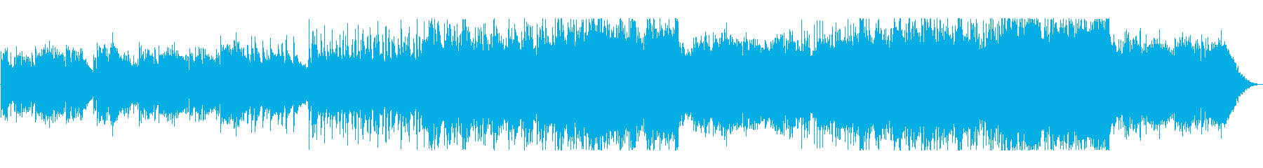 悲しみのピアノ・エレクトロの再生済みの波形