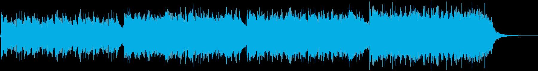 企業VP映像、154オーケストラ、爽快Hの再生済みの波形