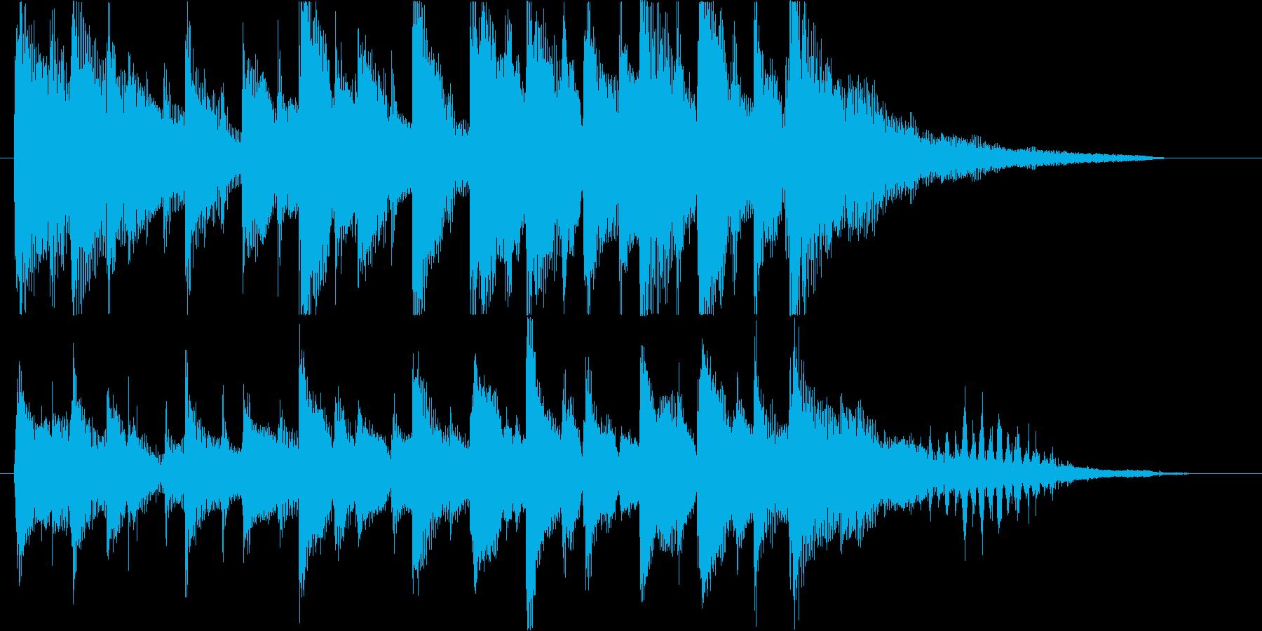 穏やかのんびりなハワイアンロゴ♪の再生済みの波形