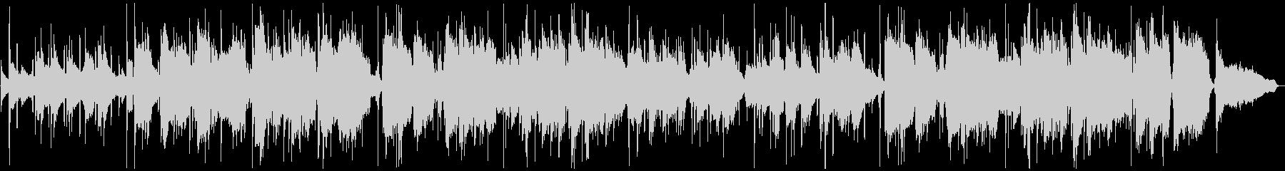 優しくも切ないサックスのジャズバラードの未再生の波形