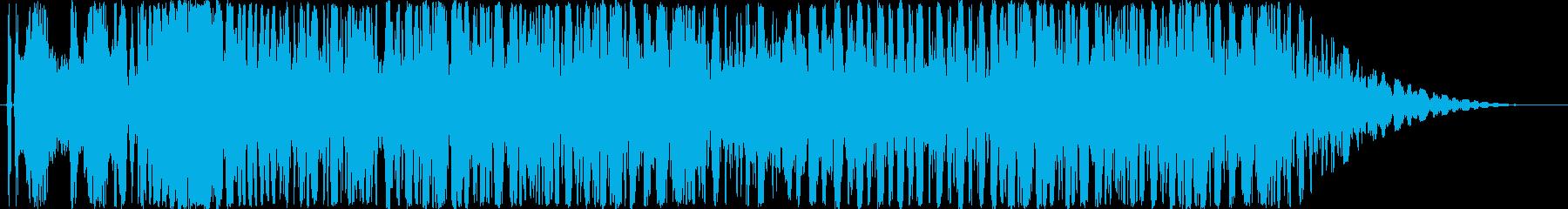 オートバイ/バイクド迫力のアクセル音4!の再生済みの波形