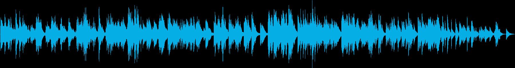 ピアノソロ 天使のイメージ、癒しの即興曲の再生済みの波形