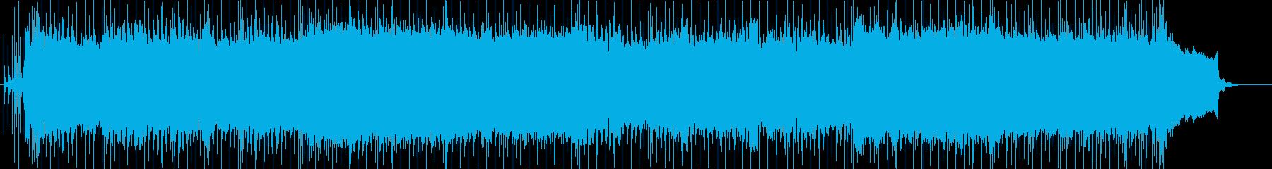 ライブ感のあるロック・フュージョンの再生済みの波形