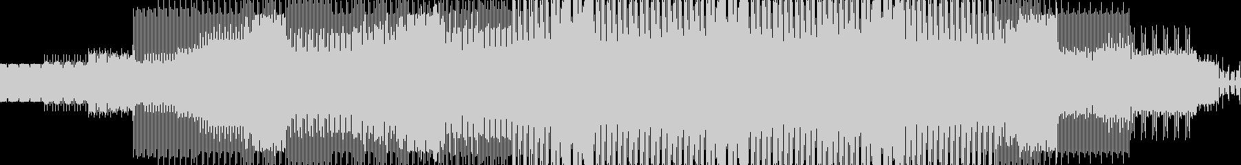 エレクトロハウス。の未再生の波形