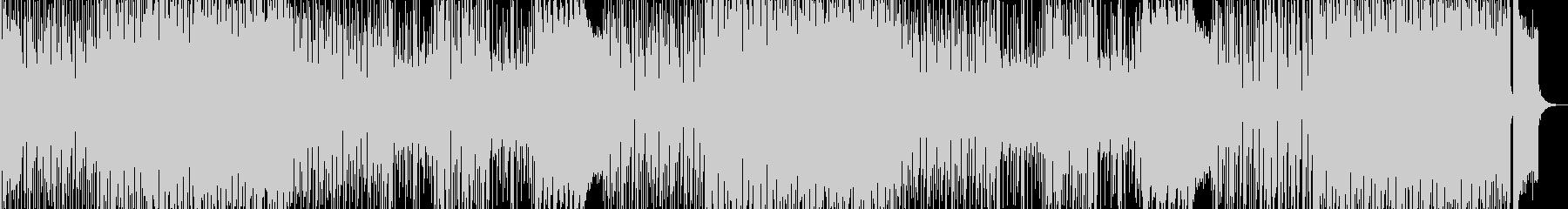 ノリノリ!ポップでかわいいBGMの未再生の波形