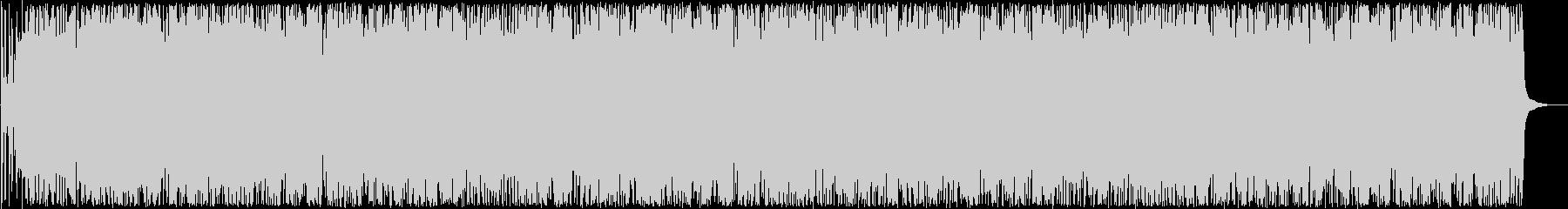 楽しいトランペット打楽器ラテン系サウンドの未再生の波形