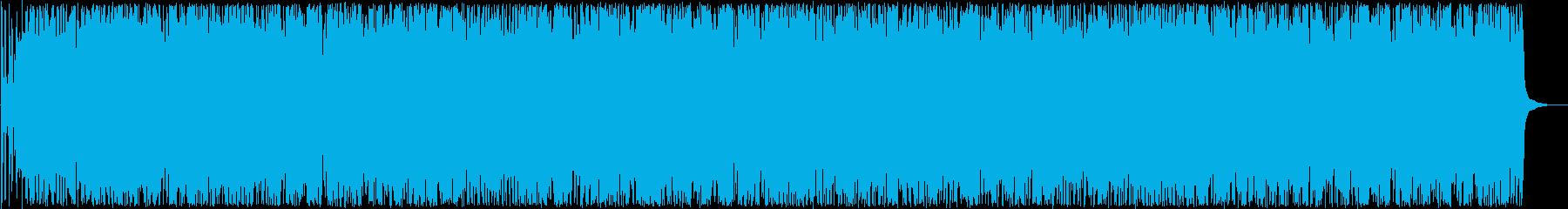 楽しいトランペット打楽器ラテン系サウンドの再生済みの波形