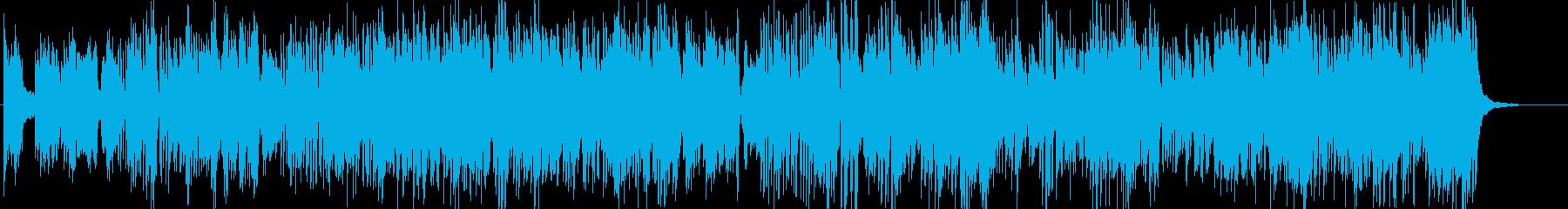 シネマティック バックグラウンド ...の再生済みの波形
