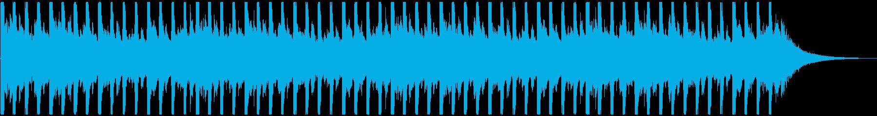 企業VPに!爽やか、穏やかピアノハウスSの再生済みの波形