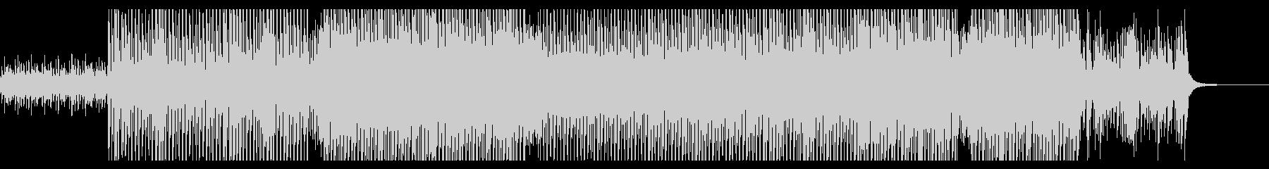 和太鼓を使ったエキサイティング和風テクノの未再生の波形
