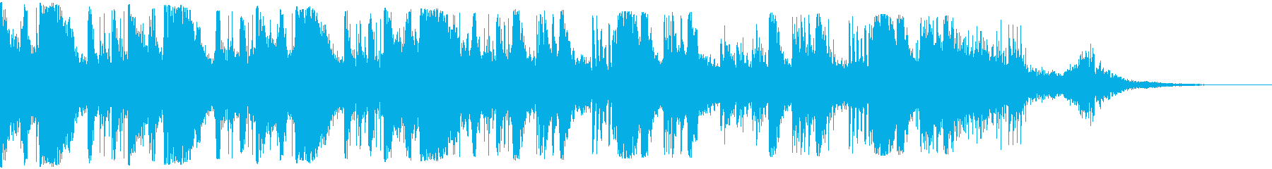 テクノジーの進化やSF、粒子がはじけるの再生済みの波形