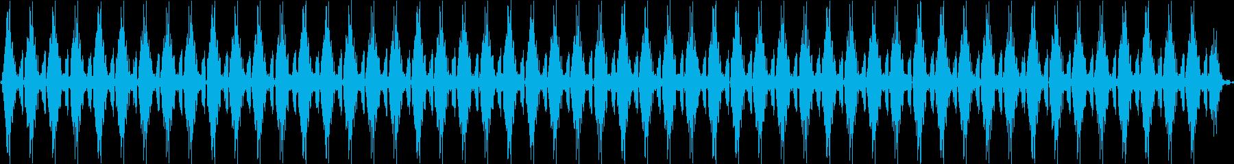 重いコンピューターデータまたはテレ...の再生済みの波形