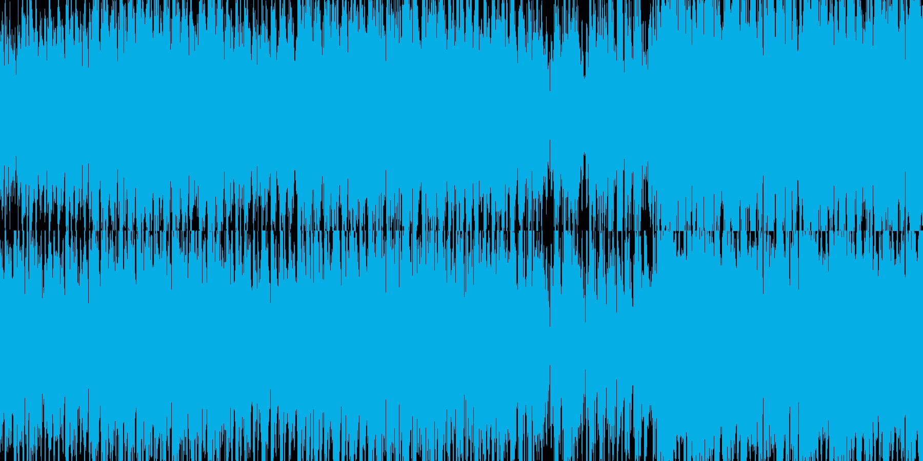民族楽器を使った陽気なBGMの再生済みの波形