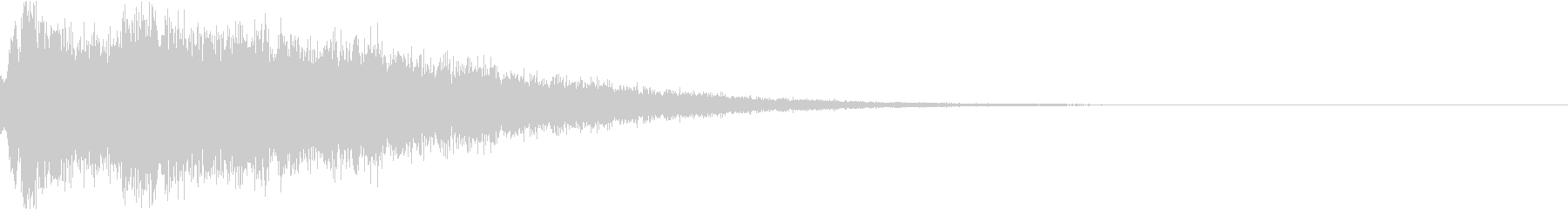 キューン:場面切替・シーン切替・ワープcの未再生の波形