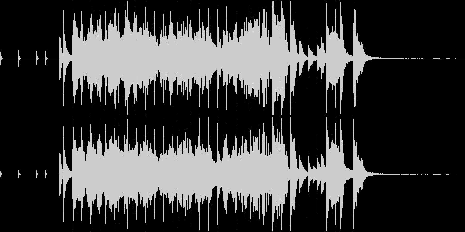 サックスがオシャレなジングルの未再生の波形