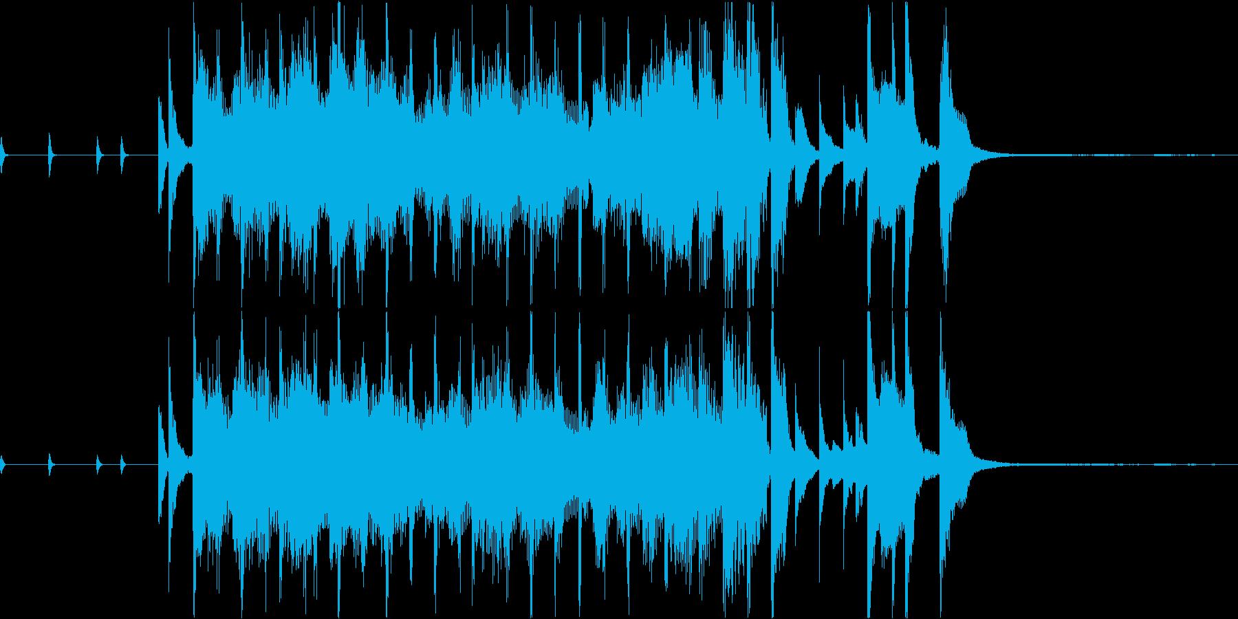 サックスがオシャレなジングルの再生済みの波形