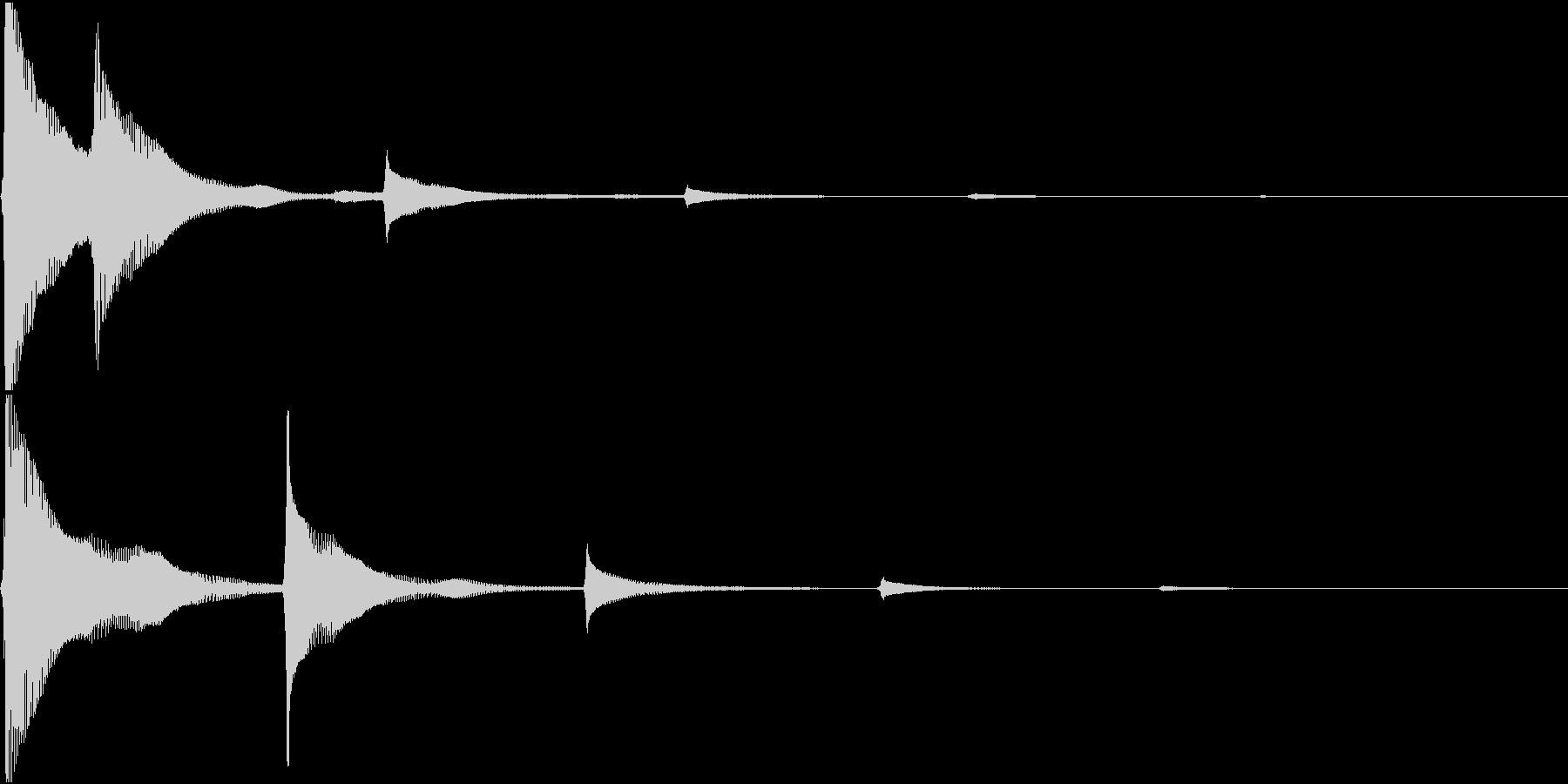RPG 毒・麻痺攻撃のSE ブクブク 4の未再生の波形