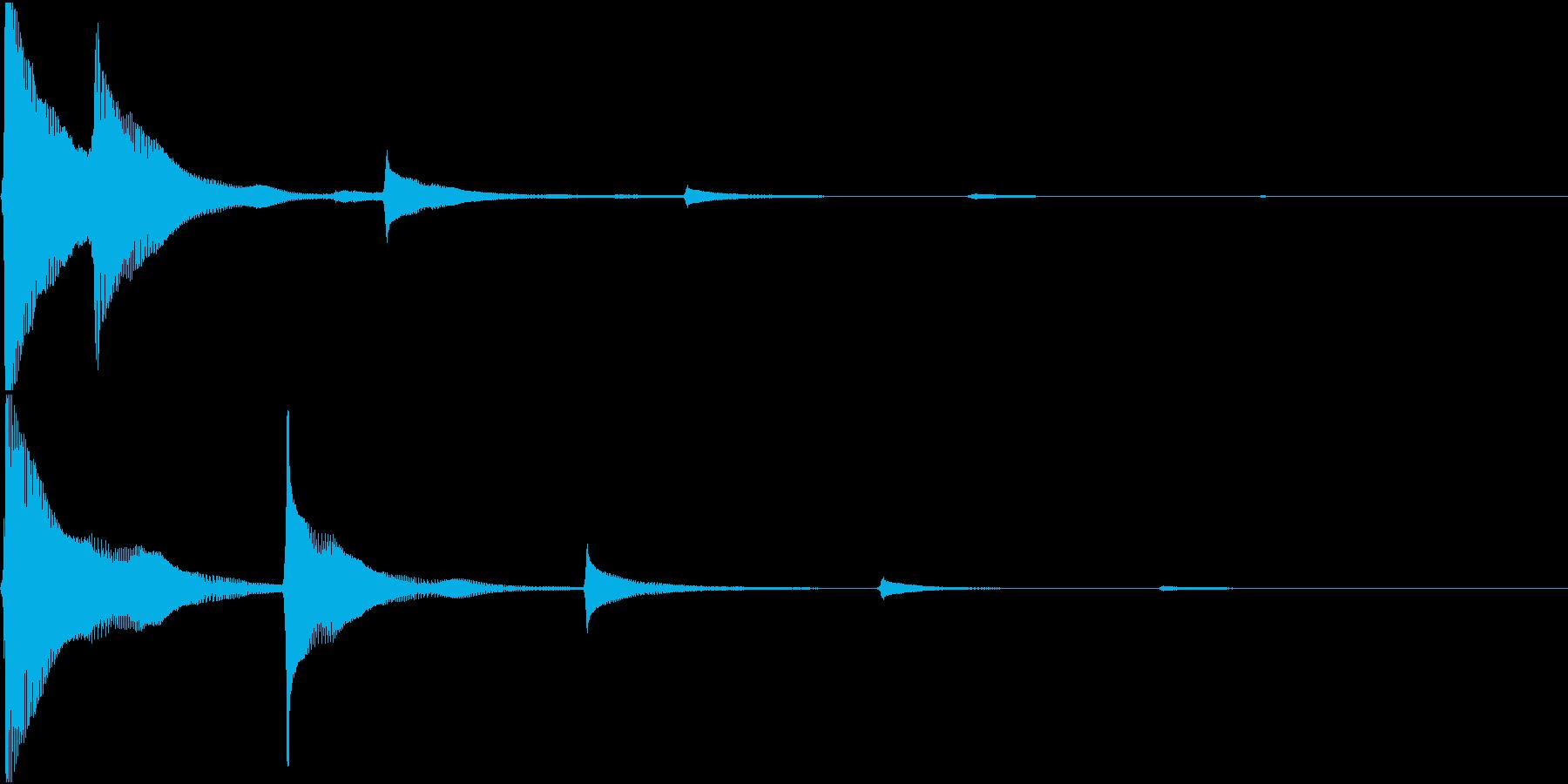 RPG 毒・麻痺攻撃のSE ブクブク 4の再生済みの波形