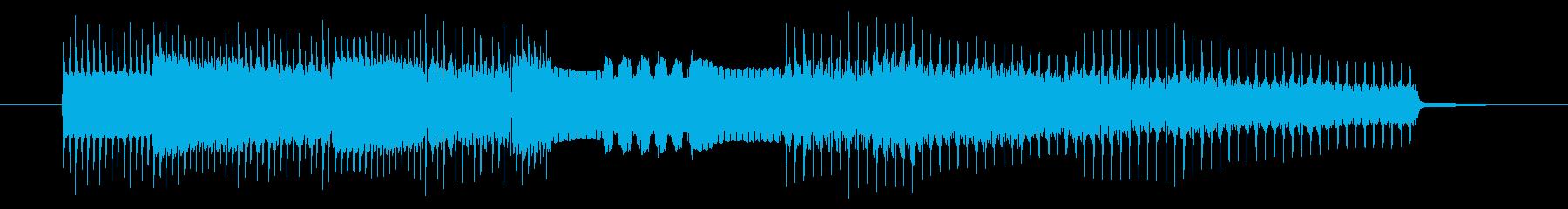 GB系風和風ゲームのジングルの再生済みの波形