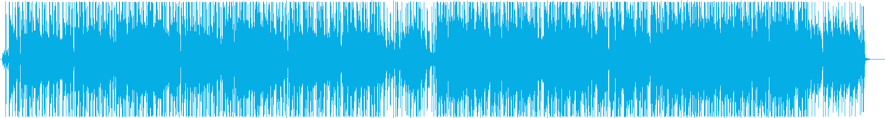 空気感のあるチルホップの再生済みの波形