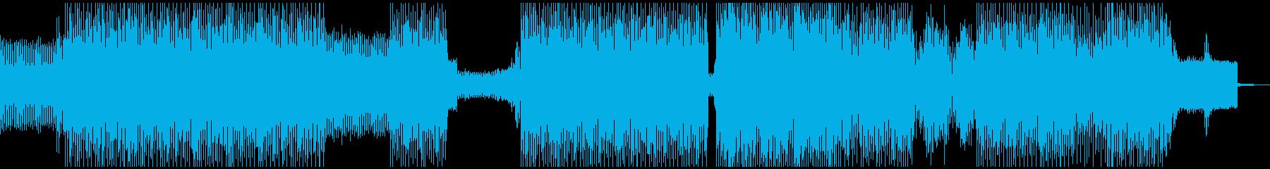 不気味で暗い、ミニマルテクノの再生済みの波形
