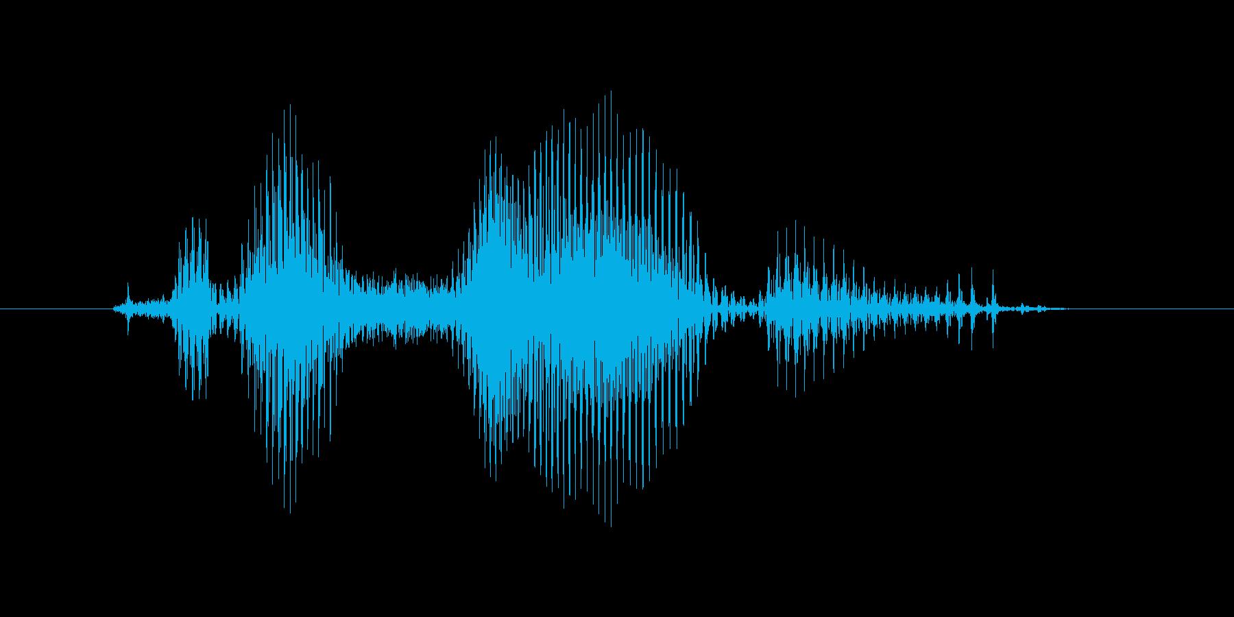 クロスオーバーの再生済みの波形