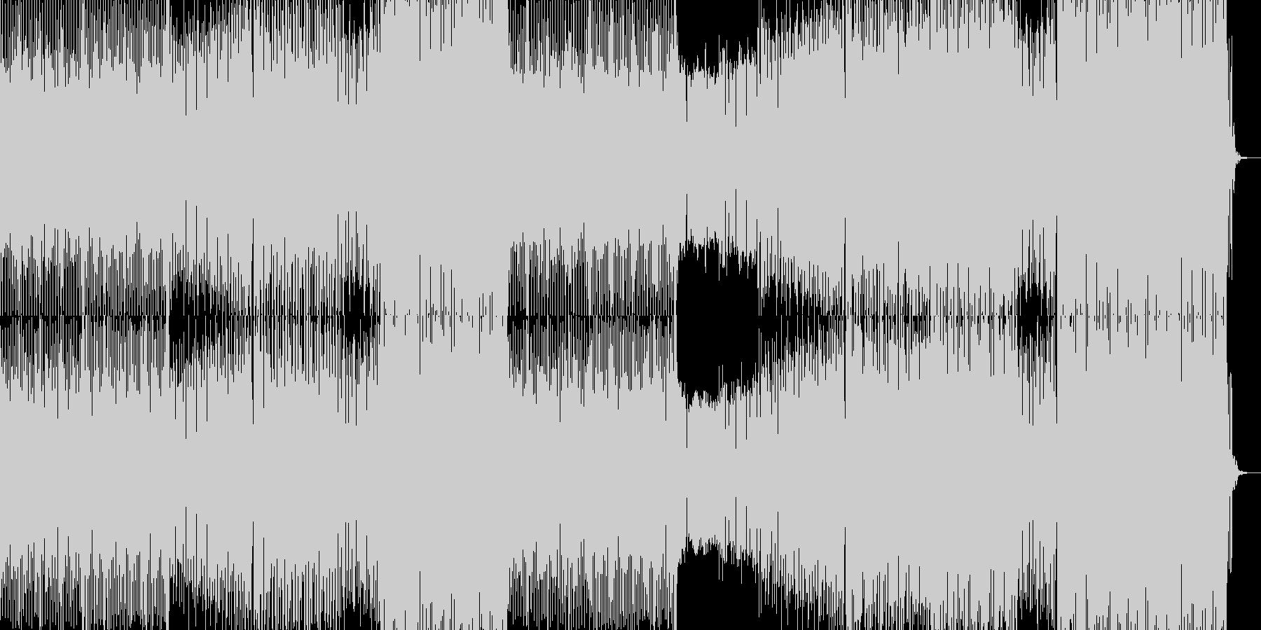 エネルギッシュでファンキーな EDMの未再生の波形