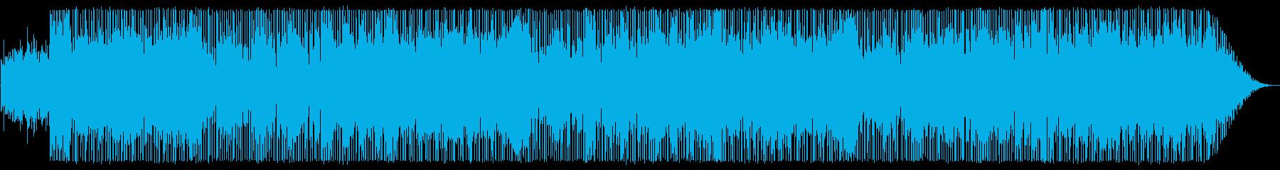 シンセウェーブ:スタイリッシュなテクノの再生済みの波形