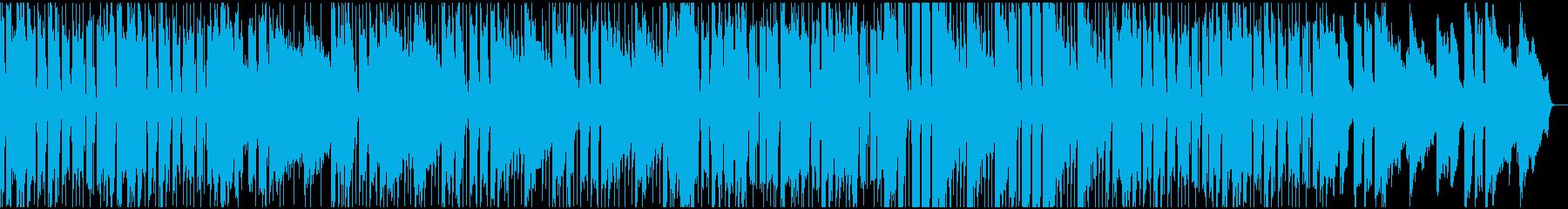 爽やかなジャズ風ポップスの再生済みの波形