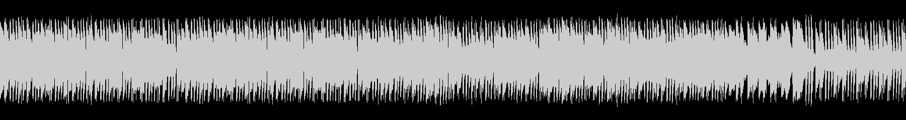 尺八と刺激的なリズムで和風ロック(ループの未再生の波形