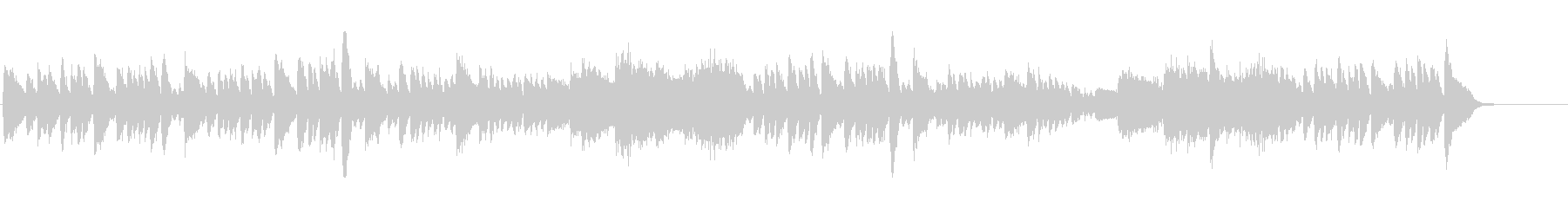 シューマン 快活で悪戯なピアノ曲 高音質の未再生の波形