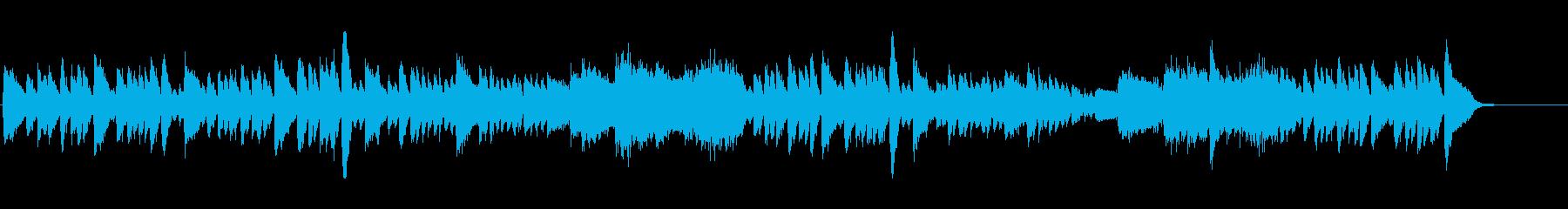 シューマン 快活で悪戯なピアノ曲 高音質の再生済みの波形