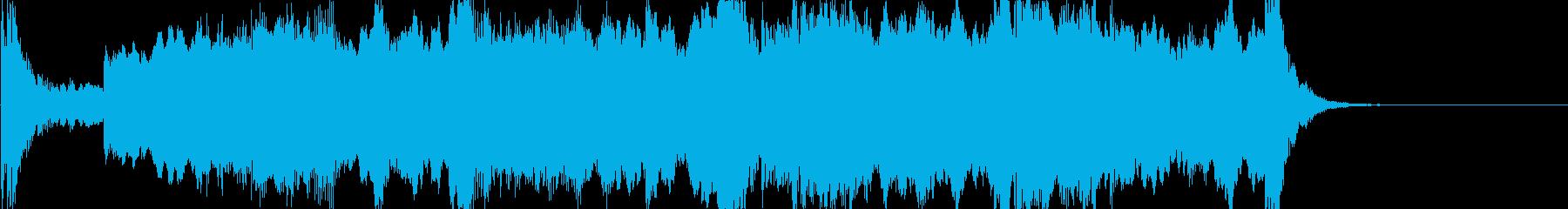 ファンタジー系に合う壮大なオーケストラの再生済みの波形