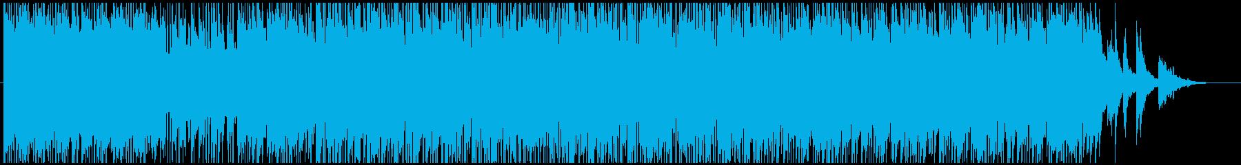 伝統的 ジャズ ビバップ アクティ...の再生済みの波形