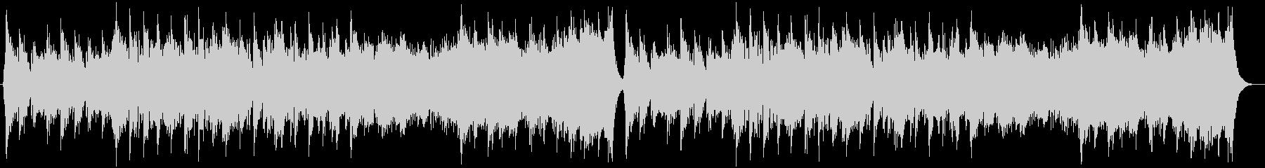 中華風の穏やかなBGMの未再生の波形
