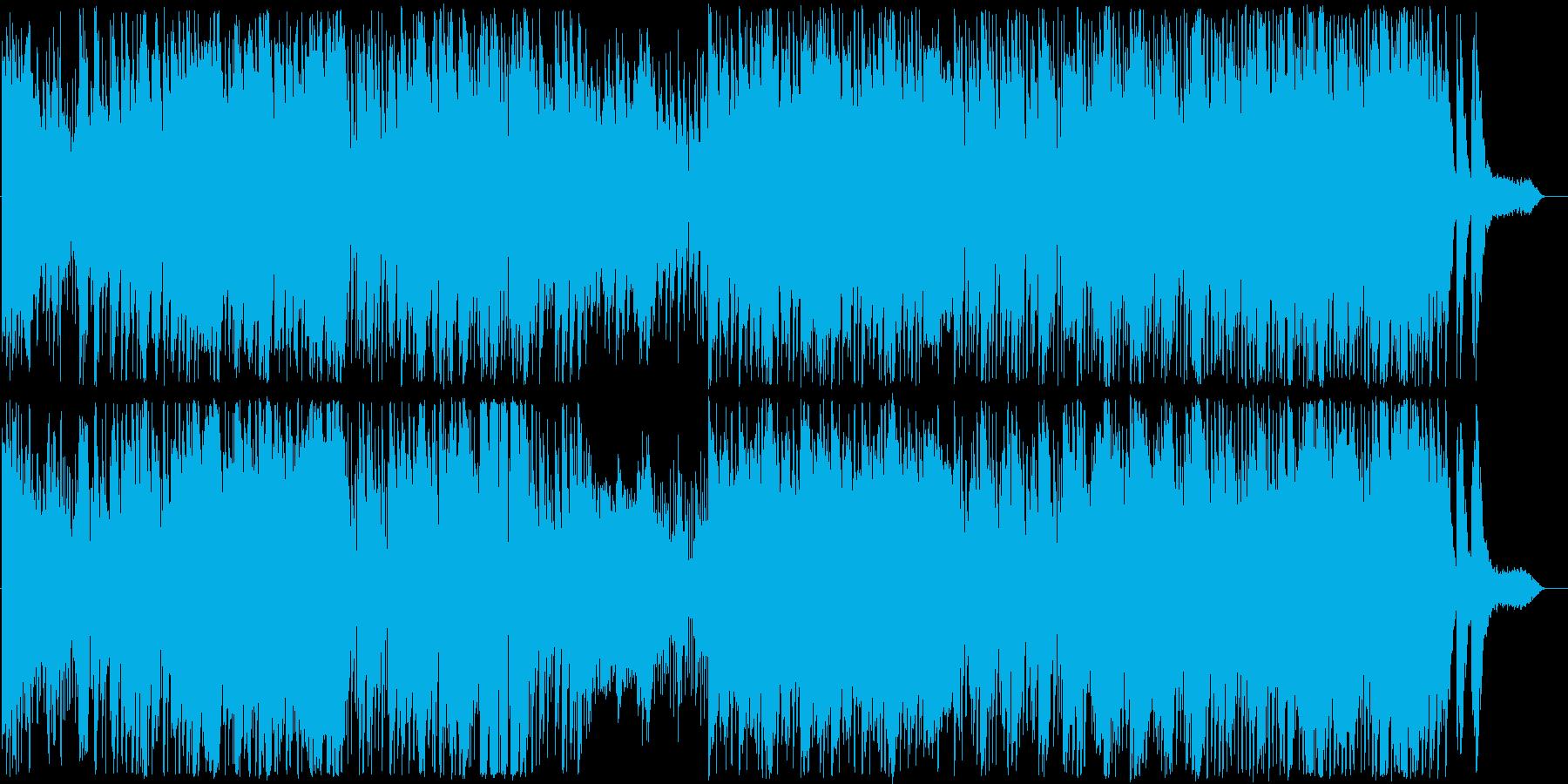 現代のエッセンスを加えたエレクトロ和風曲の再生済みの波形