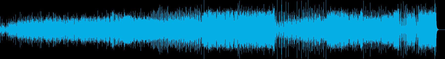 ラテン音楽は、マッチョなダンスコン...の再生済みの波形
