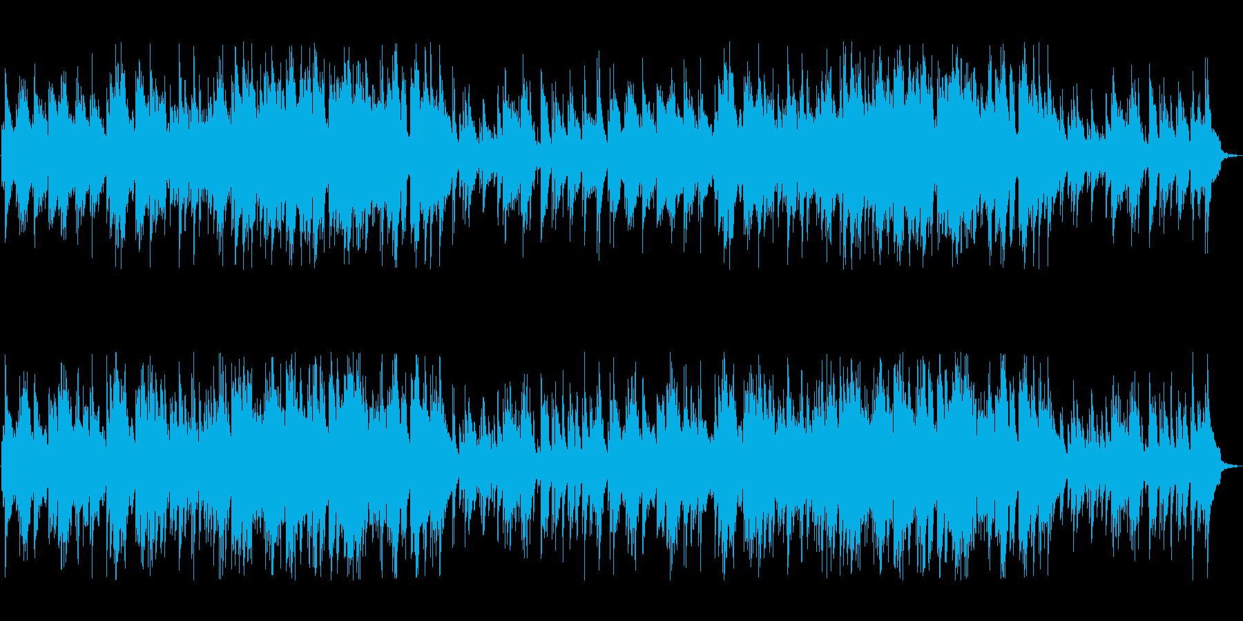 やさしいゆったり 穏やかなピアノの再生済みの波形