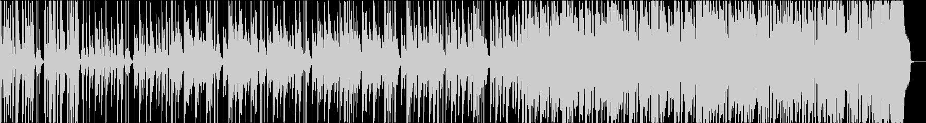 とぼけた日常のカントリーブルースの未再生の波形