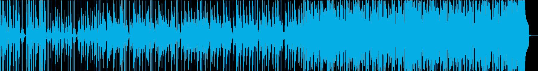 とぼけた日常のカントリーブルースの再生済みの波形