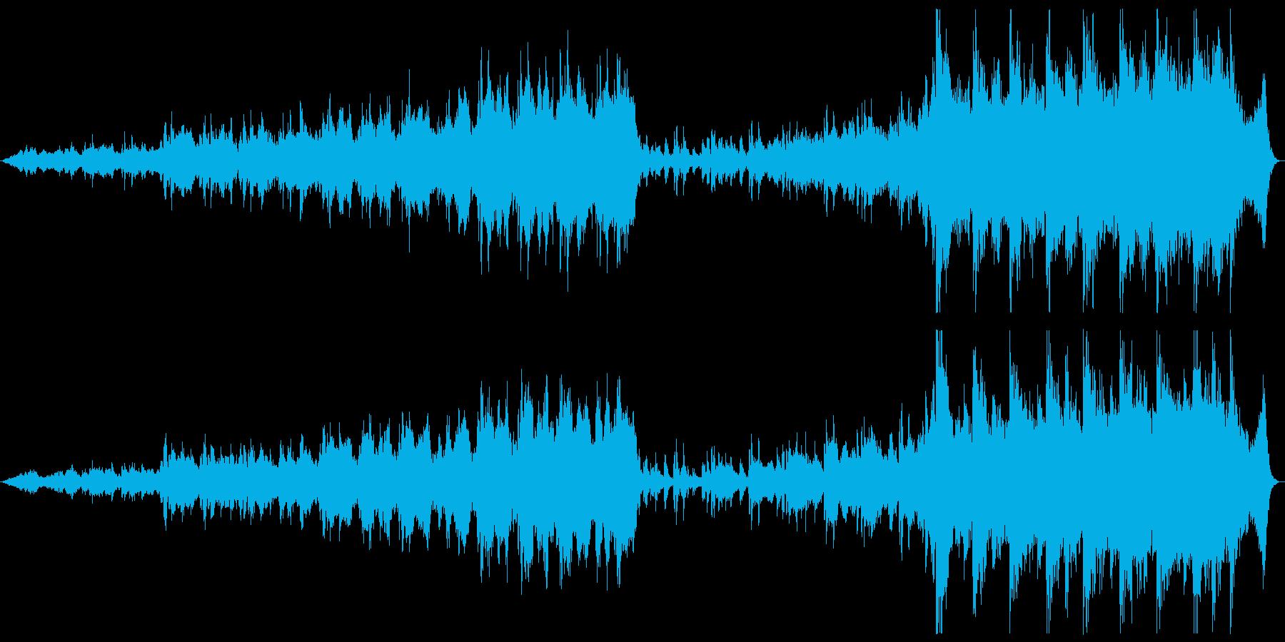 シネマチック 管弦 雄大 ファンタジーの再生済みの波形